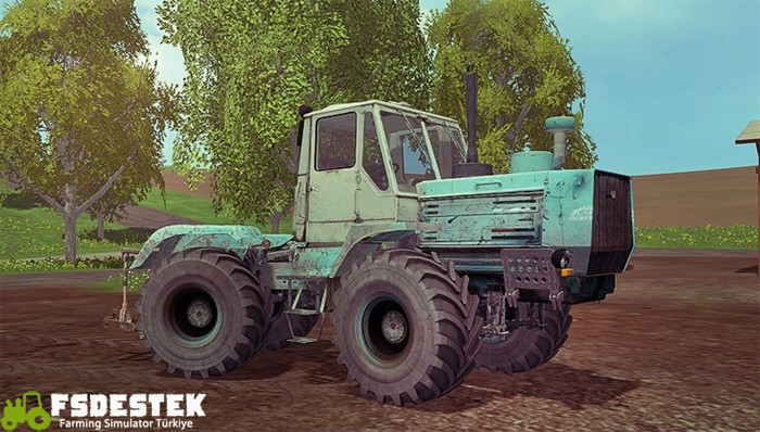 Photo of FS17 – HTZ T-150K Traktör V1.3