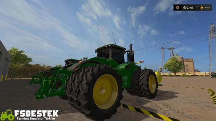 Photo of FS17 – John Deere 9620R 2017 Model V1 Beta