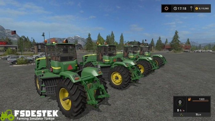 Photo of FS17 – John Deere 9630 Traktör V1.2
