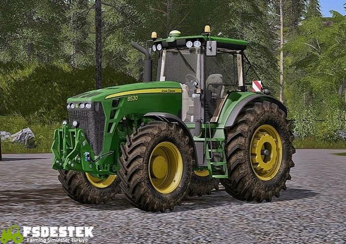 Photo of FS17 – John Deere 8530 V3.0 Traktör Yaması