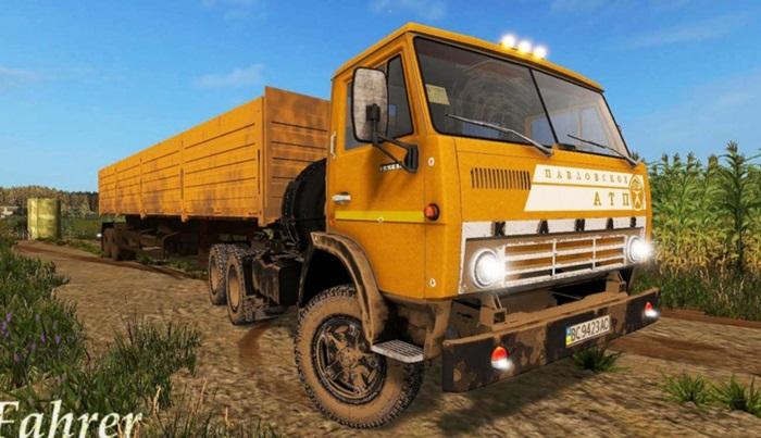 Photo of FS17 – Kamaz 54101 Kamyon Modu