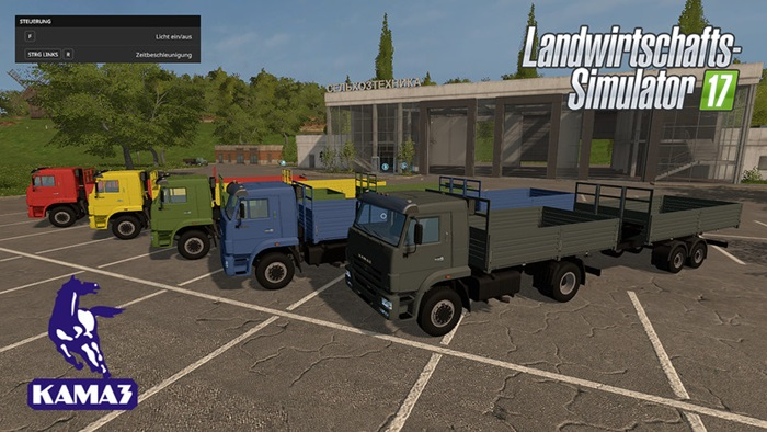Photo of FS17 – Kamaz ve Römork Paketi V1.1