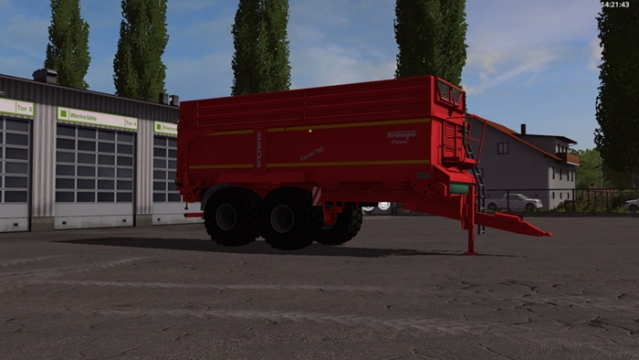 Photo of FS17 – Krampe Bandit 750 Römork V1