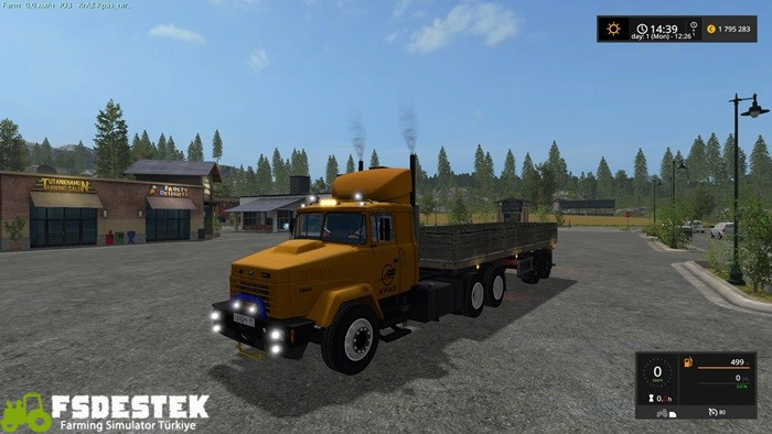 Photo of FS17 – Kraz 64431 Kamyon V1
