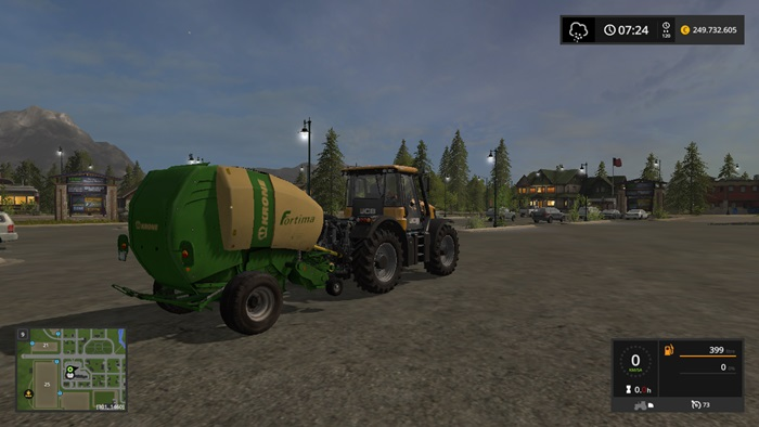Photo of FS17 – Krone Fortima 10000 Balya Makinası V1