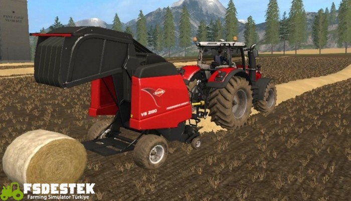 Photo of FS17 – Kuhn VB2190 Balya Makinesi