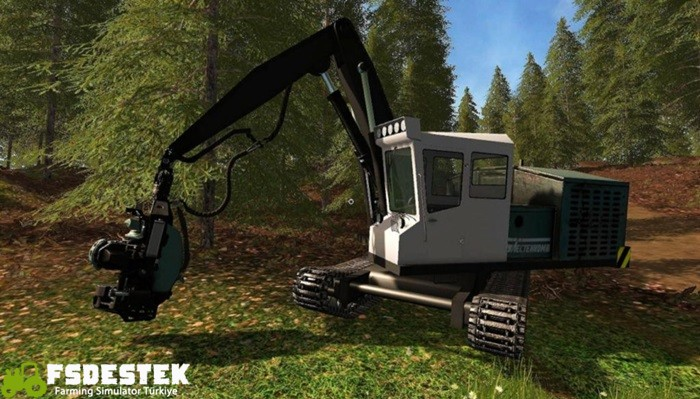 Photo of FS17 – Feller-Buncher LP-19B Ağaç Kesme Makinesi