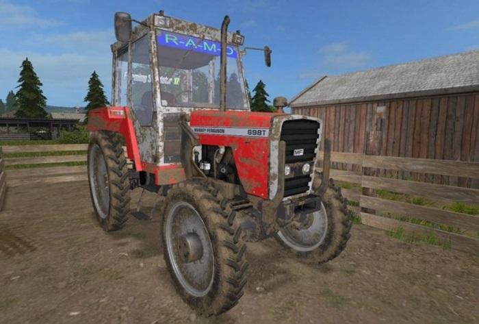 Photo of FS17 – Massey Ferguson 698T Traktör