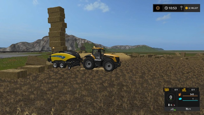 Photo of FS17 – New Holland BigBaler 1290 Hızlı Balyalama Makinesi V1