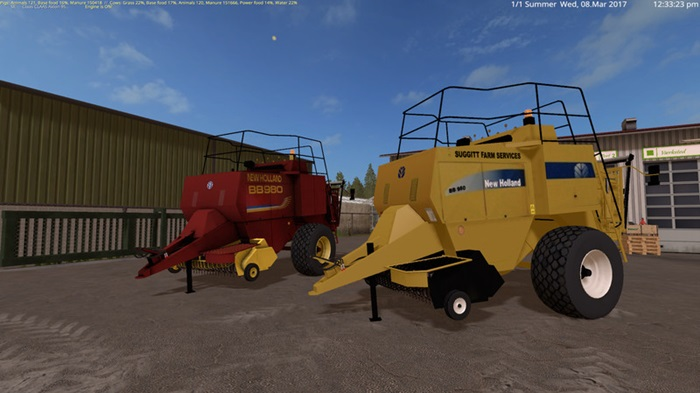 Photo of FS17 – New Holland BB980 Balya Makinası V2.1