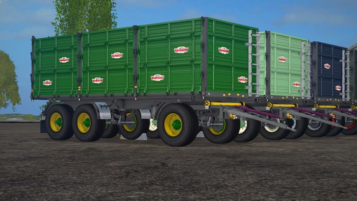 Photo of FS17 – Randazzo R270 PT Römork V1.0.1.3