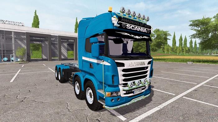 Photo of FS17 – Scania R730 8×8 IT Runner Kamyon V1