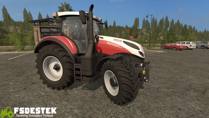 Photo of FS17 – Steyr Terrus CVT Modifiyeli Traktör V1.4