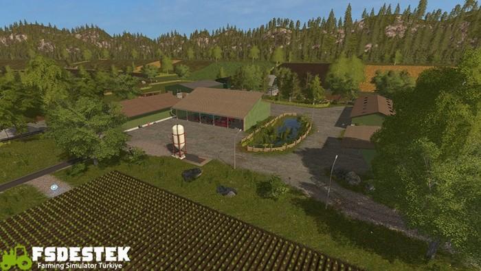 Photo of FS17 – Vogelsberg Çiftlik Haritası V1.1.0.0