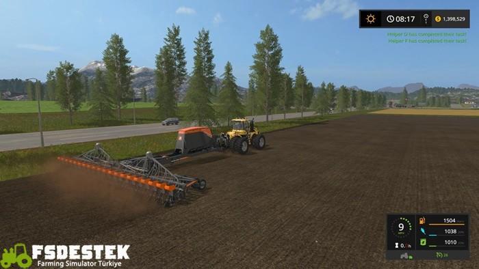 Photo of FS17 – Amazone 20 Row Unit Planter V1
