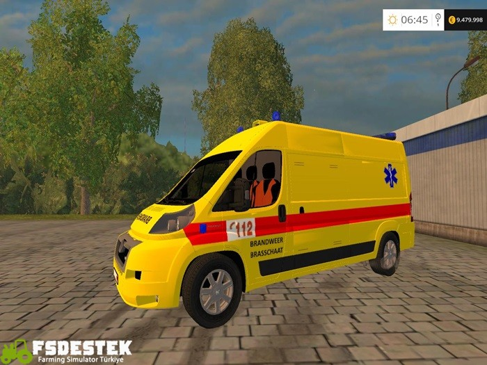 Photo of FS15 – Belçika Ambulans Aracı V1