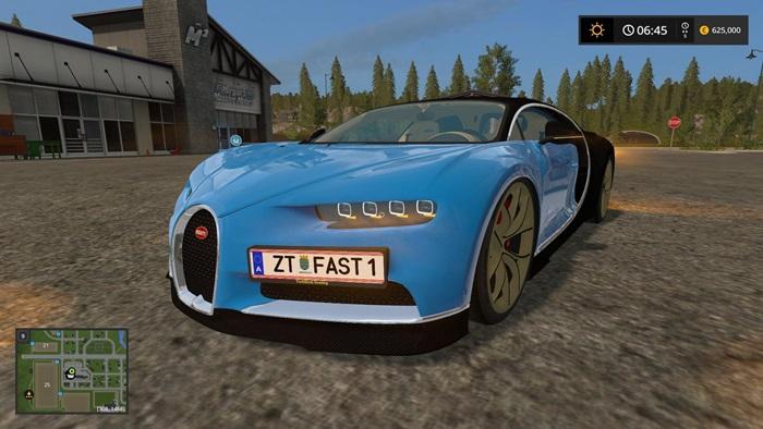 Photo of FS17 – Bugatti Chiron Araba Yaması V1