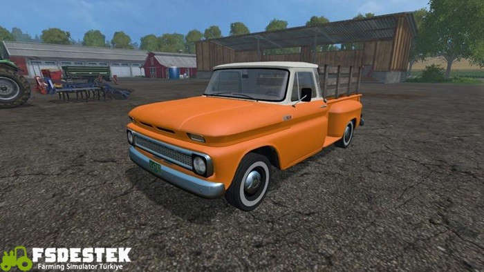 Photo of FS15 – Chevrolet 1966 C-10 V1.1