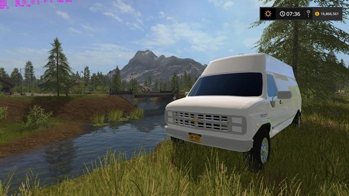 Photo of FS17 – Chevy Van V1