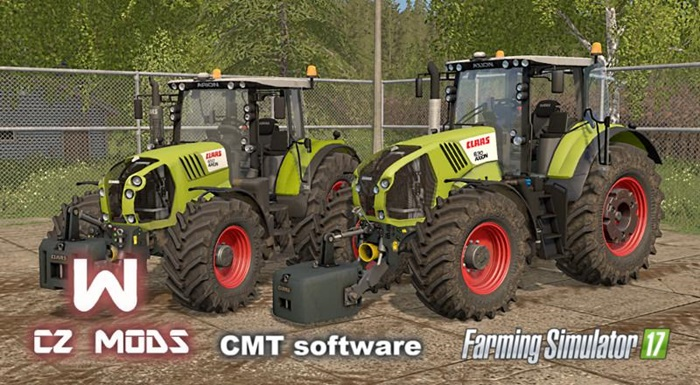 Photo of FS17 – Claas Arion 600 & Claas Axion 800 Serisi V1