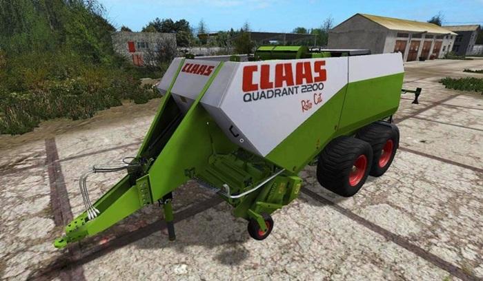 Photo of FS17 – Claas Quadrant 2200 Balya Makinası