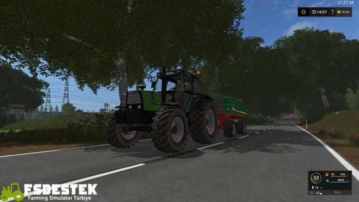 Photo of FS17 – Deutz DX90 Traktör V0.8 Beta