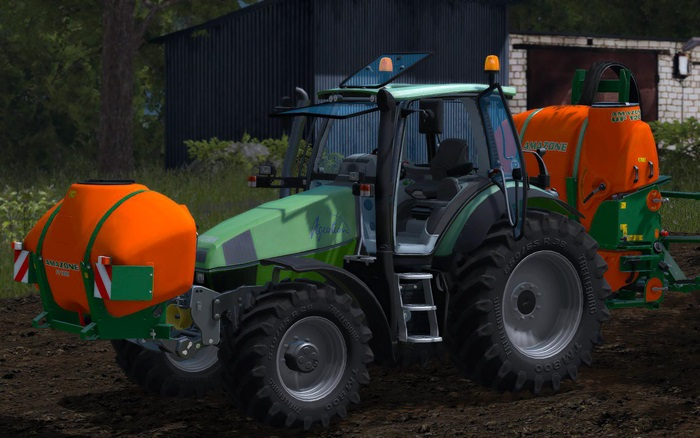 Photo of FS17 – Deutz-Fahr 120 MK3 Traktör V2