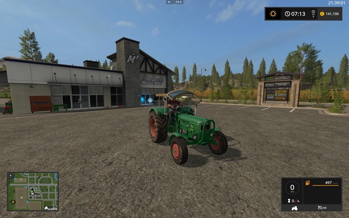 Photo of FS17 – Deutz-Fahr D80 Traktör V2.1