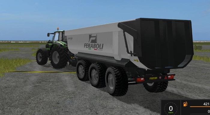 Photo of FS17 – Feraboli Damperli Römork V1.0.0.2