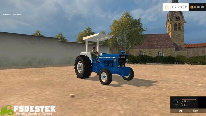 Photo of FS15 – Ford 4600 Traktör V1.1