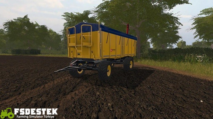 Photo of FS17 – HKD302 Overload Römork V1.1.0.1