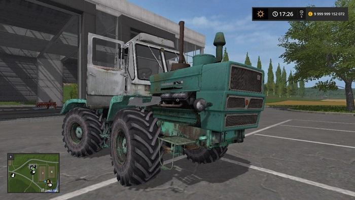 Photo of FS17 – HTZ T-150K Traktör V1.3