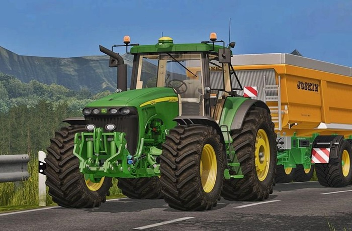 Photo of FS17 – John Deere 8020 Serisi Traktör V3