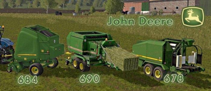 Photo of FS17 – John Deere Balya Paketi (684/690/678)