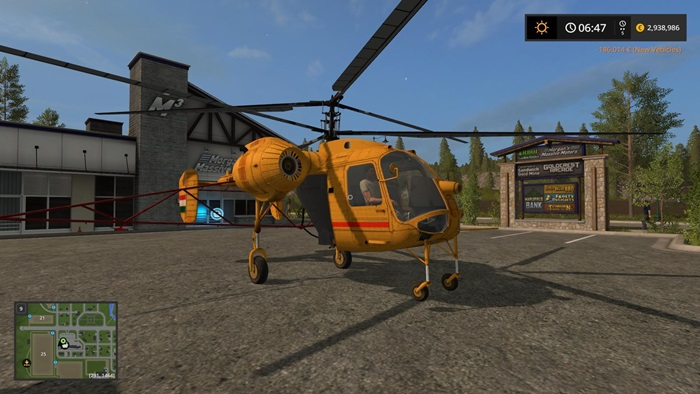 Photo of FS17 – KA26 Helikopter V1