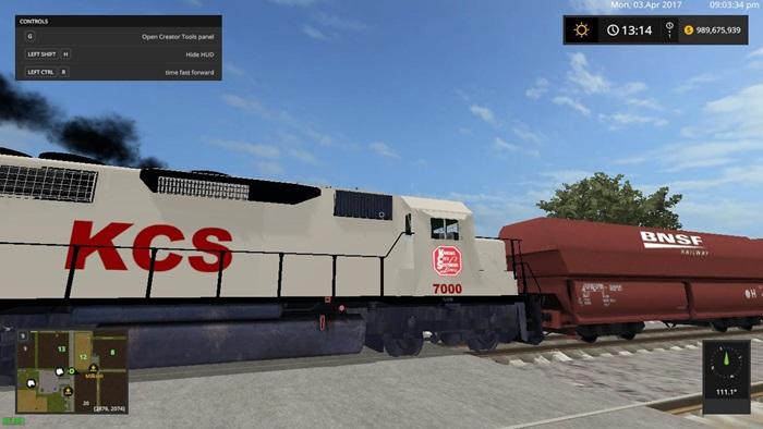 Photo of FS17 -KCS Tren V1