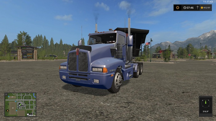 Photo of FS17 – Kenworth T600 Semi Kamyon V1.1