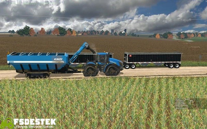 Photo of FS15 – Kinze 1500 Römork V1