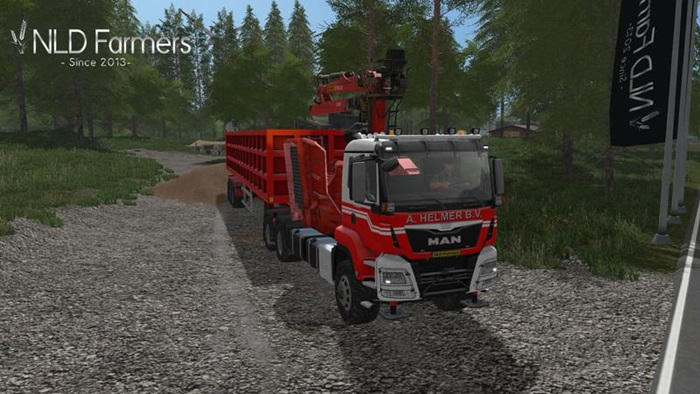 Photo of FS17 – MAN A.Helmer B.V. TGS Jenzhem583 Kamyon Modu V1