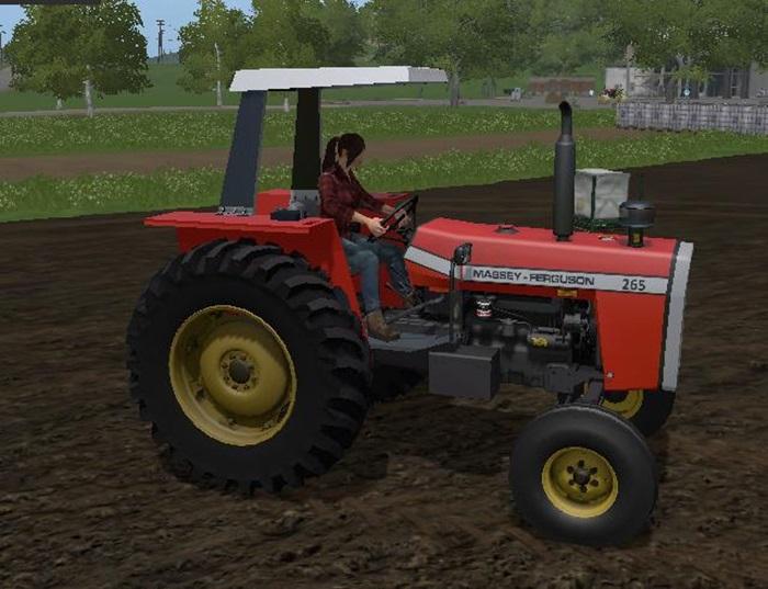 Photo of FS17 – Massey Ferguson 265 Traktör V1.1
