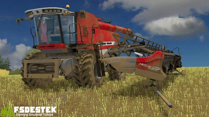 Photo of FS15 – Massey Ferguson 9895 Biçer Döver V1