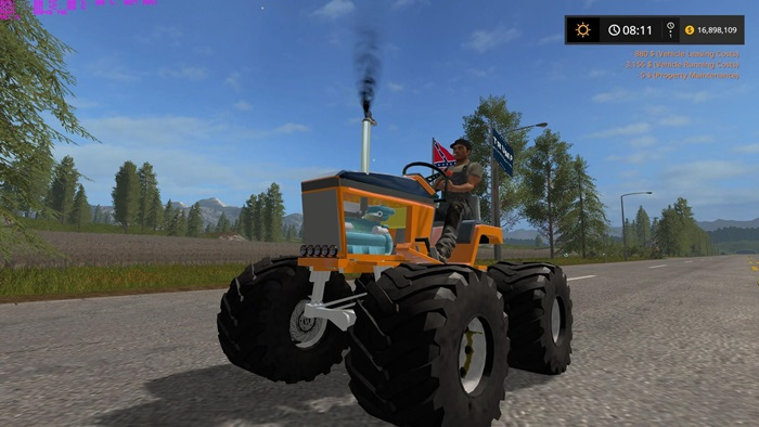 Photo of FS17 – Mud Mower Traktör