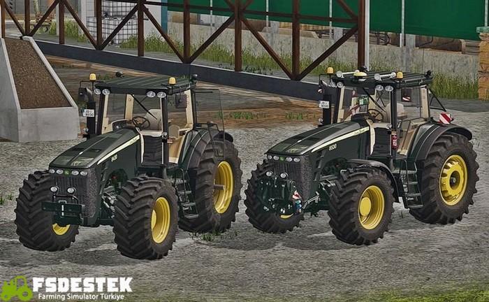 Photo of FS17 – John Deere 8030 Serisi Siyah Traktör V1