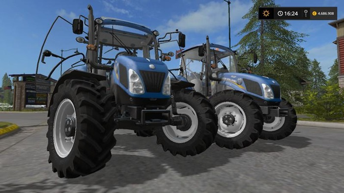 Photo of FS17 – New Holland T4 Traktör V1.5.7