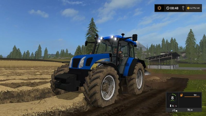 Photo of FS17 – New Holland T5070 Traktör V1