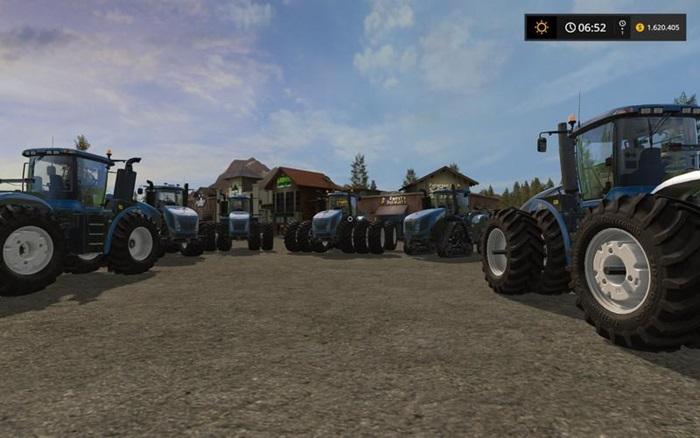 Photo of FS17 – New Holland T9 Traktör V2