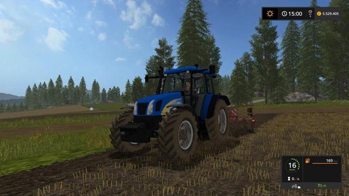 Photo of FS17 – New Holland TL 100A Traktör V1.1.1.1