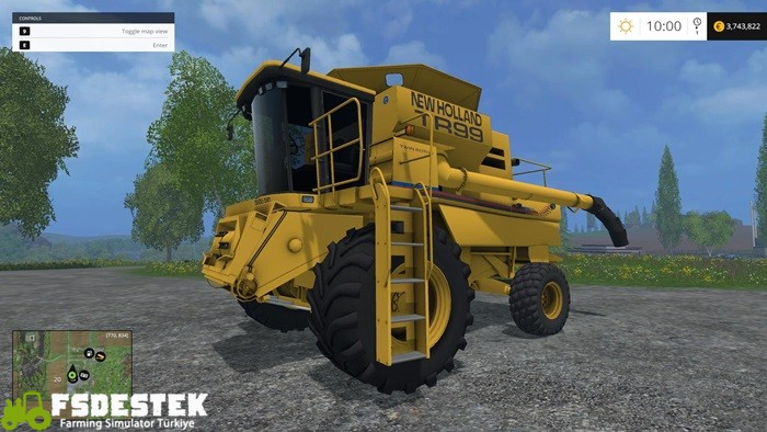 Photo of FS15 – New Holland TR99 Biçer Döver V1.4.2