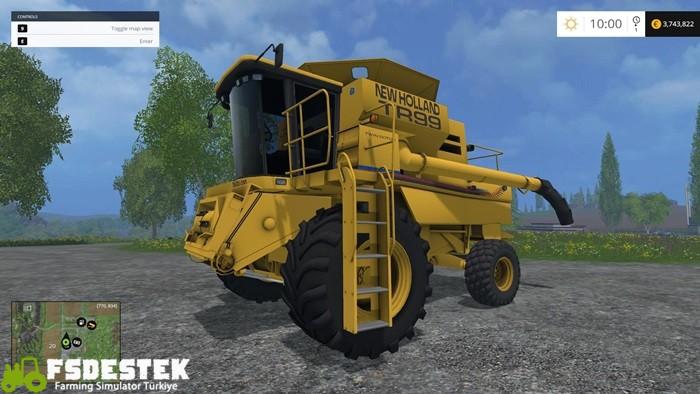 Photo of FS15 – New Holland TR99 Biçer Döver V1.4.2