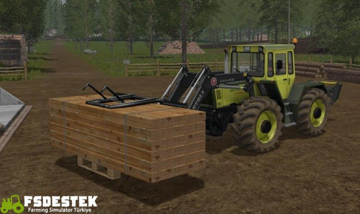 Photo of FS17 – Odundan Palet Altlığı V1